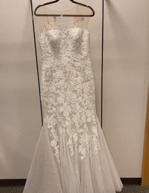 Item - Ivory Lace Style Number 14529 Traditional Wedding Dress Size 10 (M)