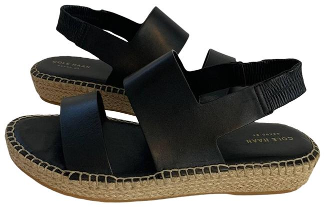 Item - Black Cloudfeel Espadrille Wedge Nwot Sandals Size US 9 Regular (M, B)