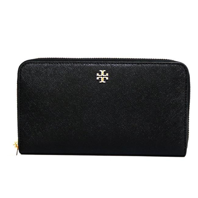 Item - Black Long Bi-fold Women's Men's Leather Wallet