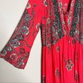 Free People Red If You Only Knew Boho Casual Maxi Dress Size 2 (XS) Free People Red If You Only Knew Boho Casual Maxi Dress Size 2 (XS) Image 7