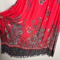 Free People Red If You Only Knew Boho Casual Maxi Dress Size 2 (XS) Free People Red If You Only Knew Boho Casual Maxi Dress Size 2 (XS) Image 8