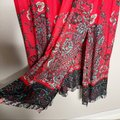 Free People Red If You Only Knew Boho Casual Maxi Dress Size 2 (XS) Free People Red If You Only Knew Boho Casual Maxi Dress Size 2 (XS) Image 9