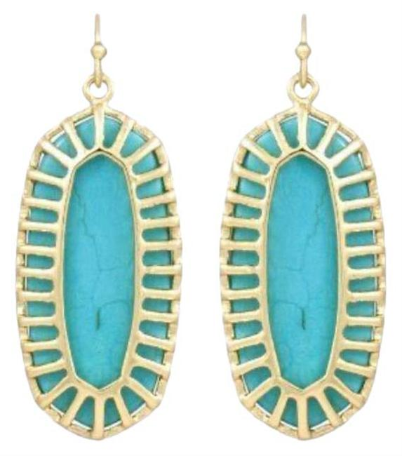 Item - Turquoise Dayla Small Drop Earrings