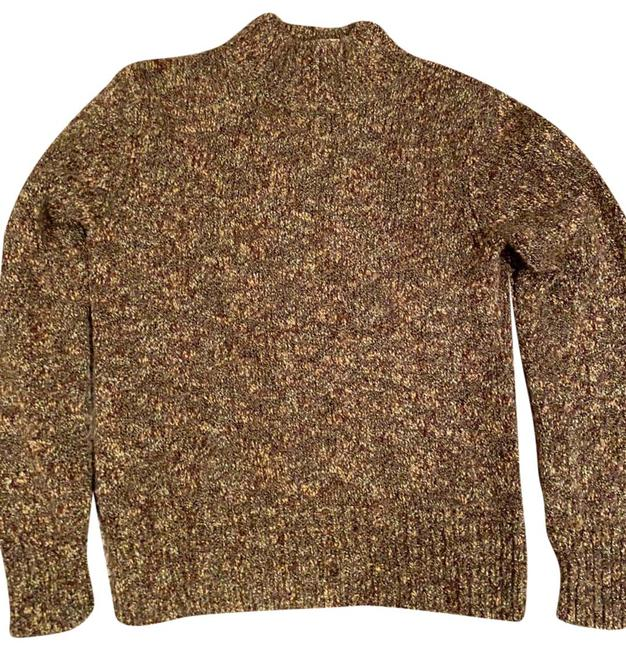 Item - 23147 Green Brown and Gold Sweater