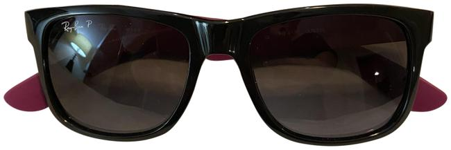 Item - Black/Purple Justin Sunglasses