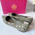 Tory Burch Green Embroidered Yasmin Pointed Toe Beaded Ballet Flat Pumps Size US 10 Regular (M, B) Tory Burch Green Embroidered Yasmin Pointed Toe Beaded Ballet Flat Pumps Size US 10 Regular (M, B) Image 4