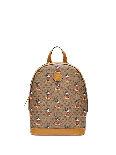 Item - Disney Small Multi Color Canvas Backpack