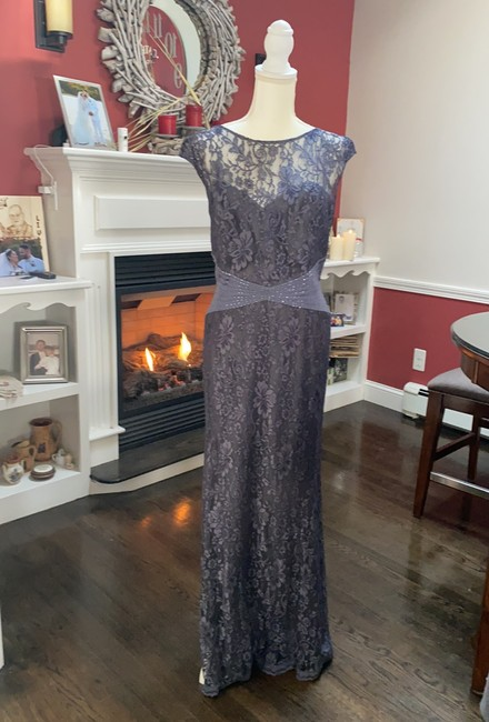 Item - Iron Lace with Lining Mother Of The Groom Formal Bridesmaid/Mob Dress Size 16 (XL, Plus 0x)