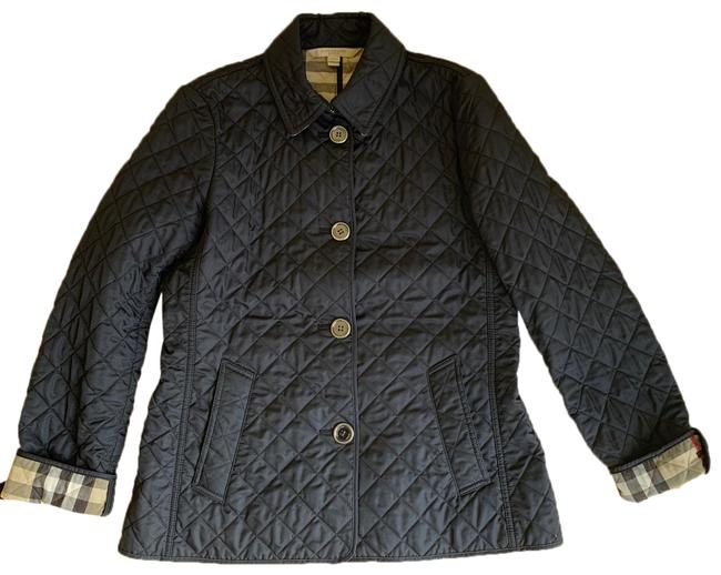 Item - Navy Blue Quilted Copford Activewear Outerwear Size 8 (M)