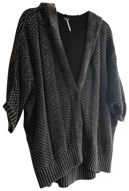 Item - Gray Over Knit Sweater M Cardigan Size 10 (M)