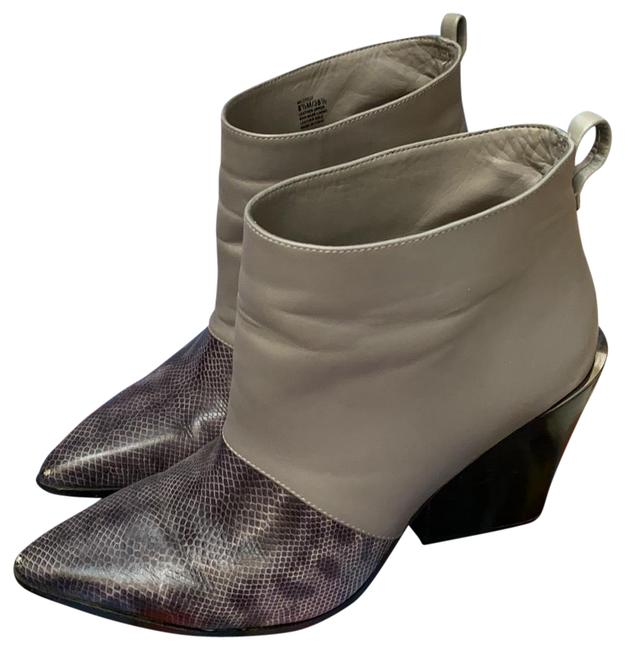 Item - Snakeskin/Grey Crees Boots/Booties Size US 8.5 Regular (M, B)