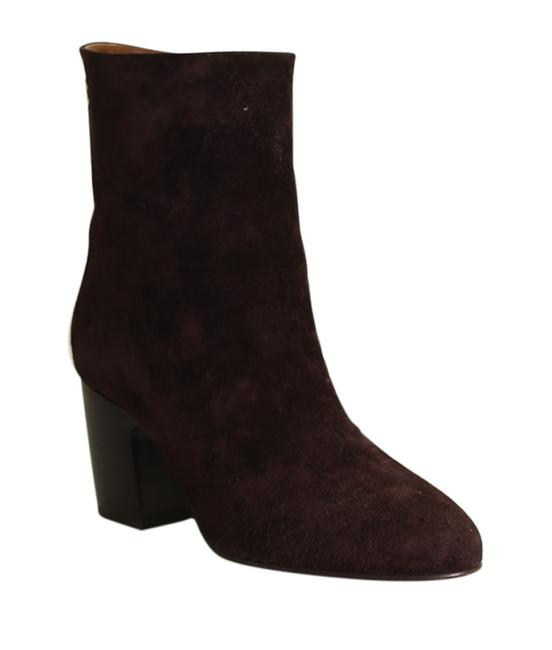Item - Burgundy G32213 Cc Suede Ankle 196729 Boots/Booties Size EU 38.5 (Approx. US 8.5) Narrow (Aa, N)