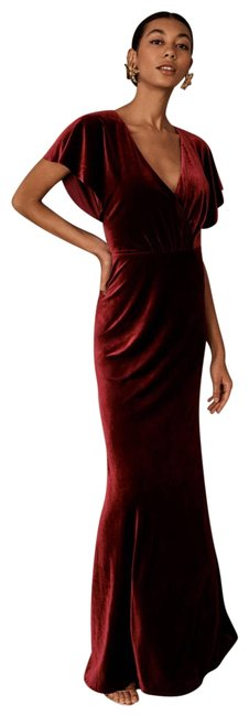 Item - Dark Berry Style No. 54524210; Color Code: 061 Long Formal Dress Size 14 (L)