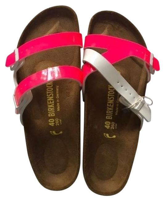 Item - Pink Yao Patent Sandals Size US 9 Narrow (Aa, N)