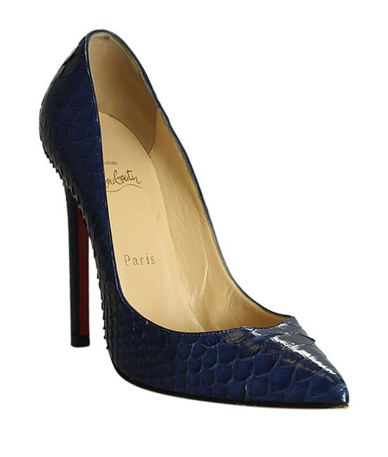 Item - Blue So Kate 120 Python Pumpsx 196741 Boots/Booties Size EU 38 (Approx. US 8) Narrow (Aa, N)