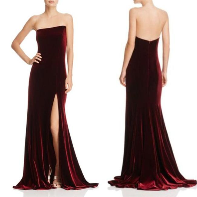 Item - Red Long Cocktail Dress Size 8 (M)