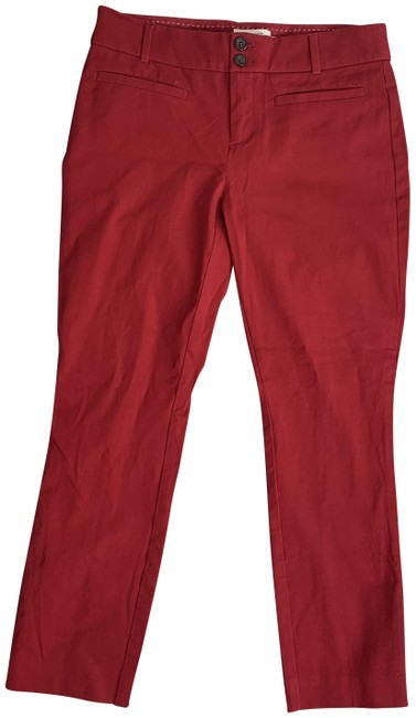 Item - Red The Essential Slim Dress Pants Size 4 (S, 27)