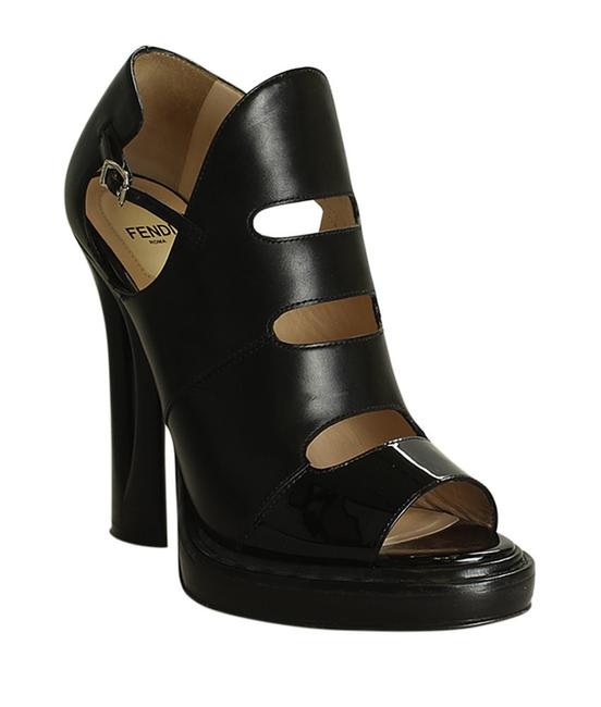 Item - Black Patent Leather Bootie Heelsx 196790 Mules/Slides Size EU 39 (Approx. US 9) Narrow (Aa, N)