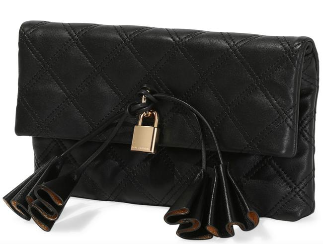 Item - Black with Tag Leather Clutch