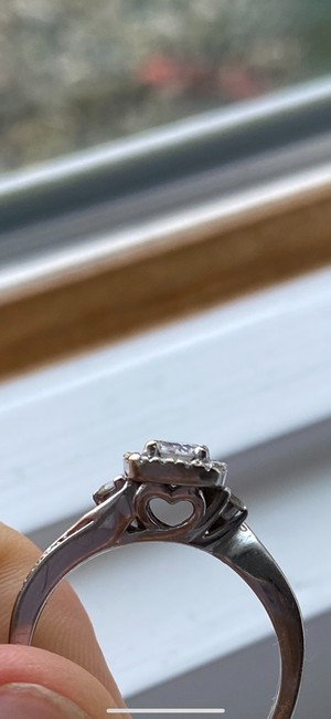 Kay Jewelers Silver Cute Engagement Ring Kay Jewelers Silver Cute Engagement Ring Image 3