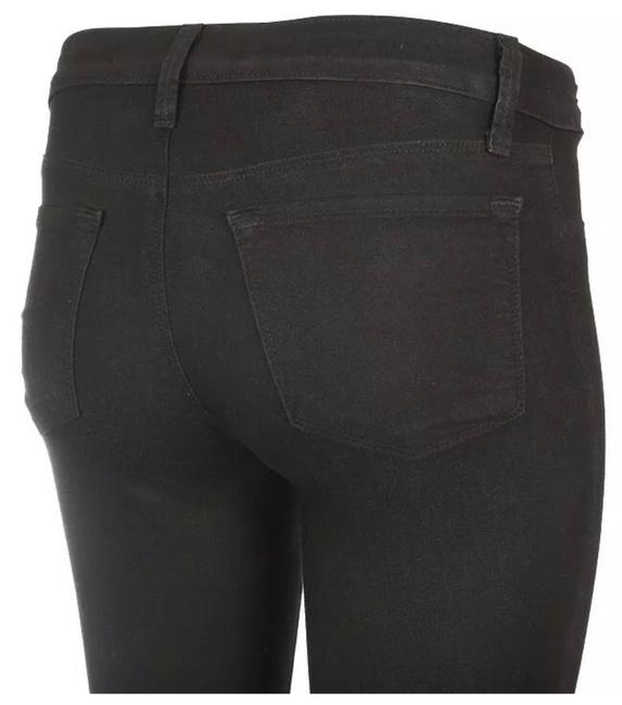 Item - Black Coated Super Lght Cotton Stretchy 25 New Skinny Jeans Size 0 (XS, 25)