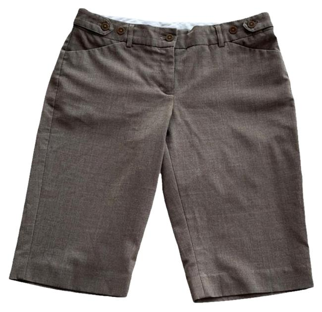 Item - Cappuccino Brown Editor Bermuda Shorts Size 4 (S, 27)