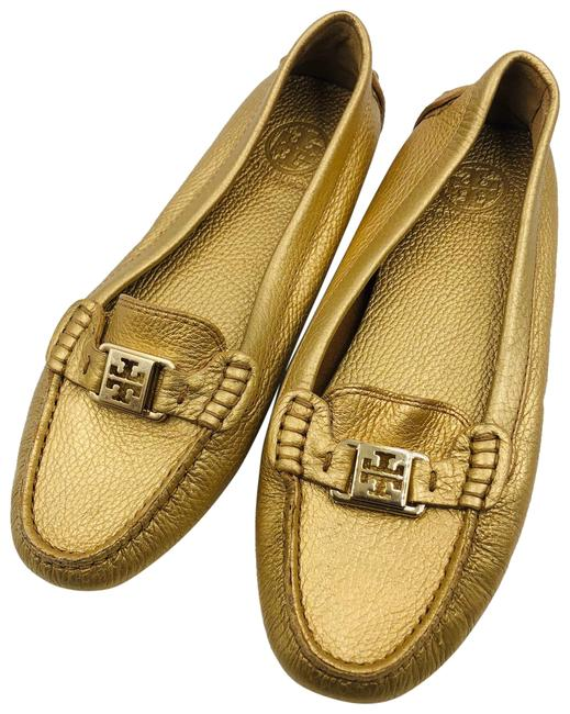 Item - Gold Loafers Flats Size US 10 Regular (M, B)