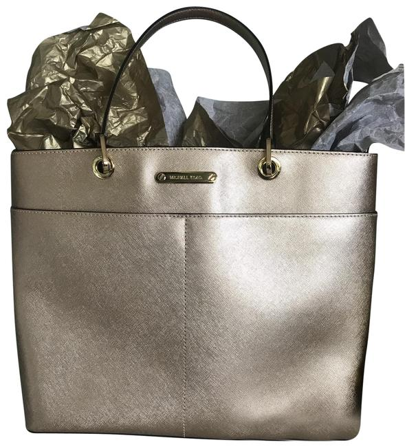 Item - Gold Leather Tote