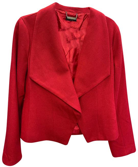 CC Couture Red Jacket Activewear Size 8 (M) CC Couture Red Jacket Activewear Size 8 (M) Image 1