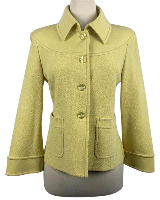 Item - Yellow Knit With Jacket Size 8 (M)