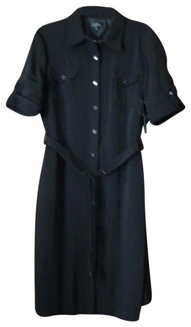 Item - Black Keith Mid-length Work/Office Dress Size 14 (L)