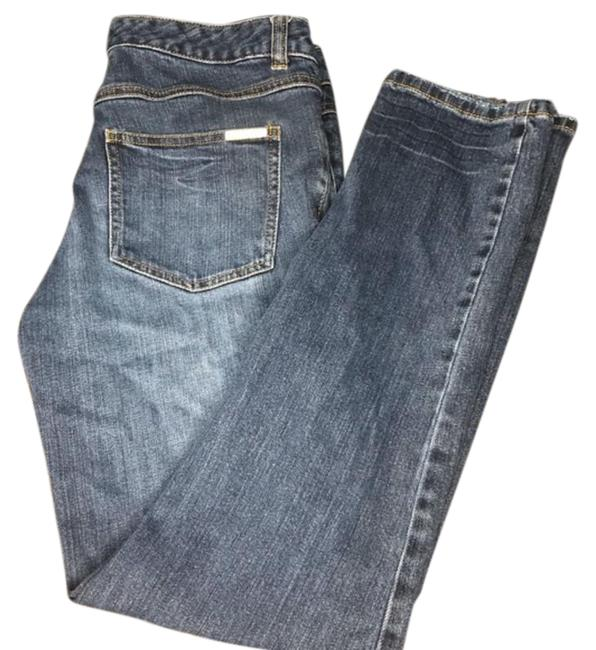 Item - Blue Dark Wash Relaxed Fit Jeans Size 27 (4, S)