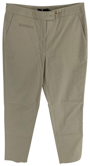 Item - Tan Light Tapered Leg Hook Clasp Womens 42 Or Pants Size 6 (S, 28)