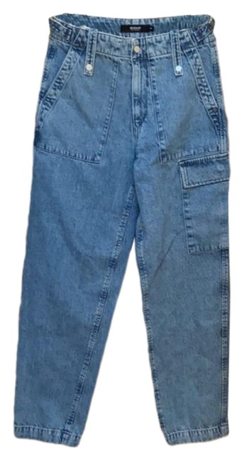Item - Blue Light Wash Cargo Jeans Size 25 (2, XS)