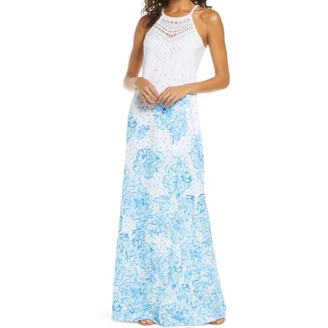 Item - White Pearl Soft Long Casual Maxi Dress Size 8 (M)