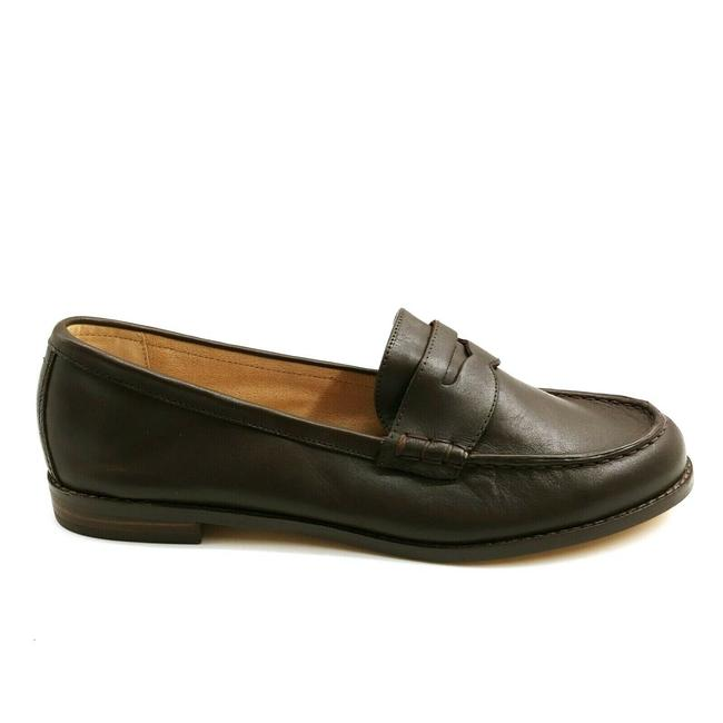 Item - Brown Womens Suede Classic Comfort Penny Loafers Sierra 10b Flats Size US 10 Regular (M, B)
