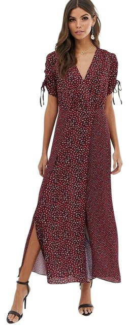 Item - Multicolor Aubine Tie Sleeve Long Casual Maxi Dress Size 2 (XS)