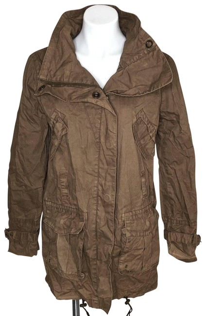 Item - Brown Jacket Coat Size 8 (M)