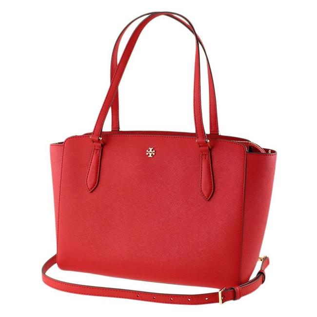 Item - Crossbody Emerson Small Top In Brilliant Red Leather Tote