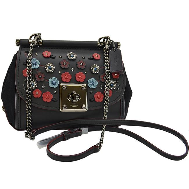Item - Shoulder Bag Suede Ladies --y14818 Black Leather Clutch