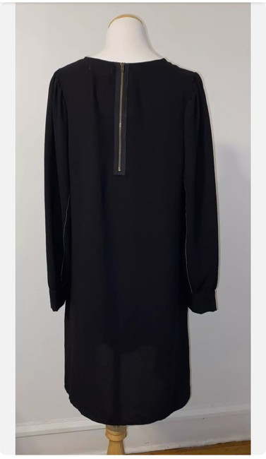 Item - Black Long Sleeve Mid-length Work/Office Dress Size 4 (S)