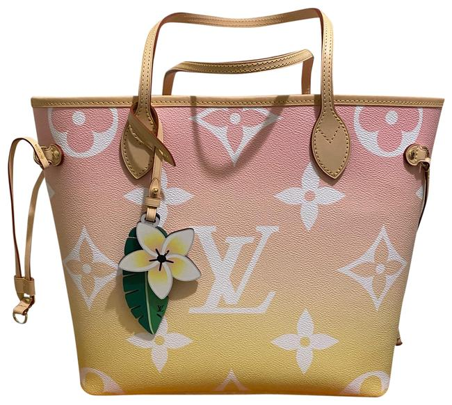 Item - Neverfull Mm Pink Canvas Tote