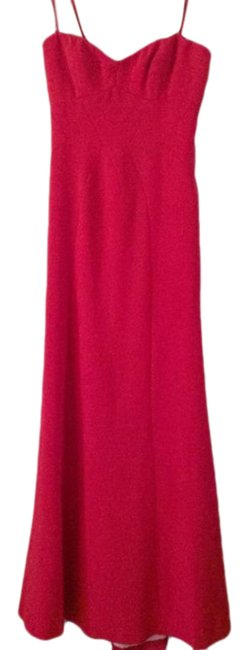 Item - Red Bcbg Surrey Strapless Fitted Bustier Gown Long Formal Dress Size 2 (XS)