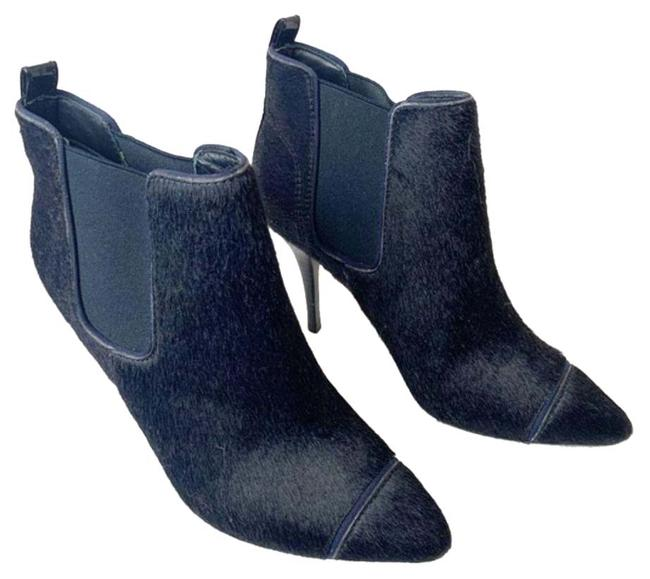 Item - Blue Ponyhair Ankle Chelsea Boots/Booties Size US 8 Regular (M, B)