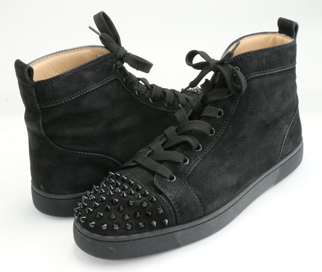 Item - Black Lou Spikes Sneakers Shoes