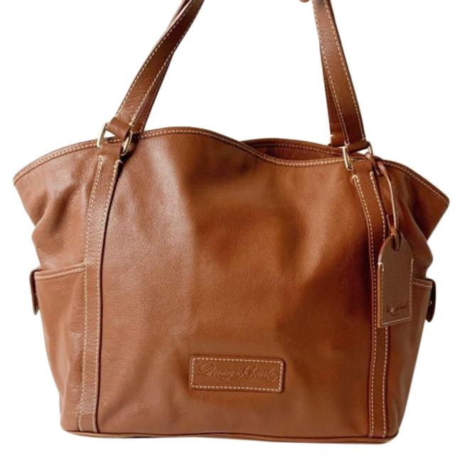 Item - Luggage Brown Leather Tote