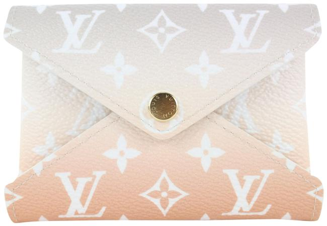 Item - Peach Mist Monogram By The Pool Kirigami Envelope Pouch Pm Small 2l68
