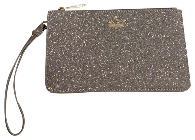 Item - Glitter Wallet/Clutch Silver and Gold Leather Clutch