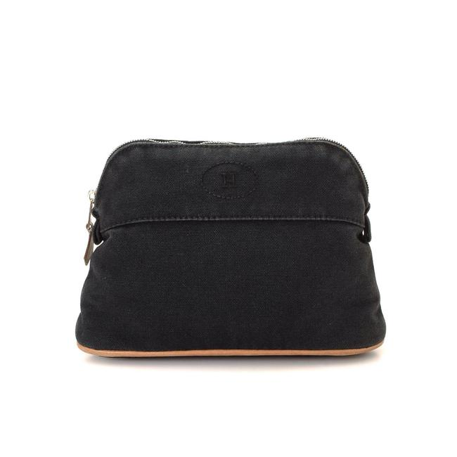 Item - Black Clutch Bolide Pouch Cosmetic Bag