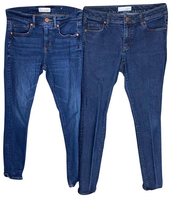 Item - Blue High Rise Lot Of 2 Skinny Jeans Size 27 (4, S)